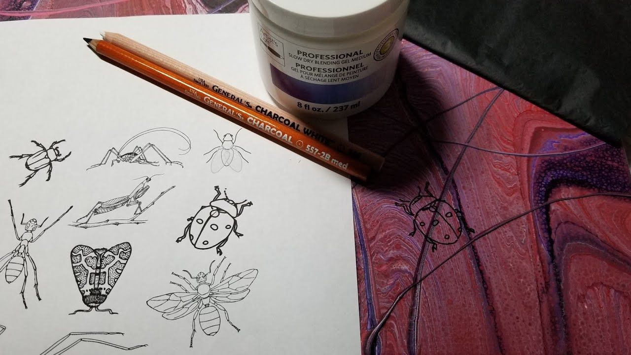 26 How To Transfer A Line Drawing Onto An Acrylic Painting Or Pour For Embellishments 3 Methods Line Drawing Acrylic Painting Reference Photos For Artists