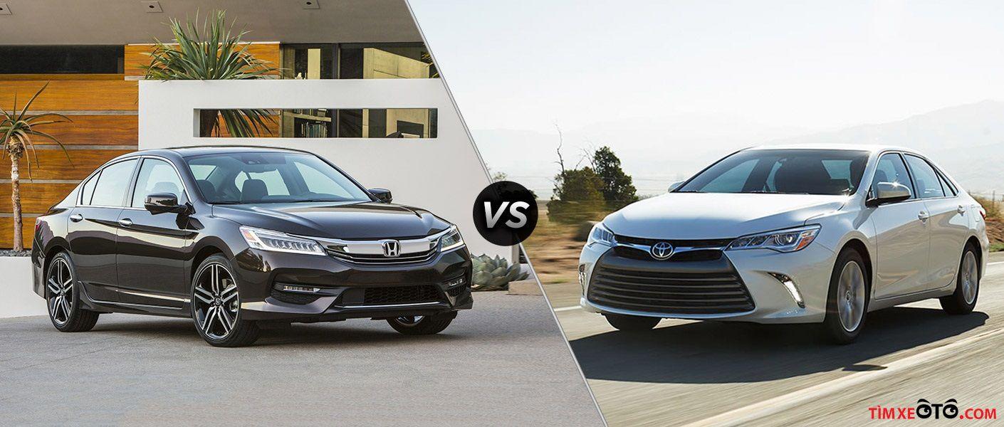 Toyota Camry và Honda Accord  hai đối thủ đến từ Nhật Bản