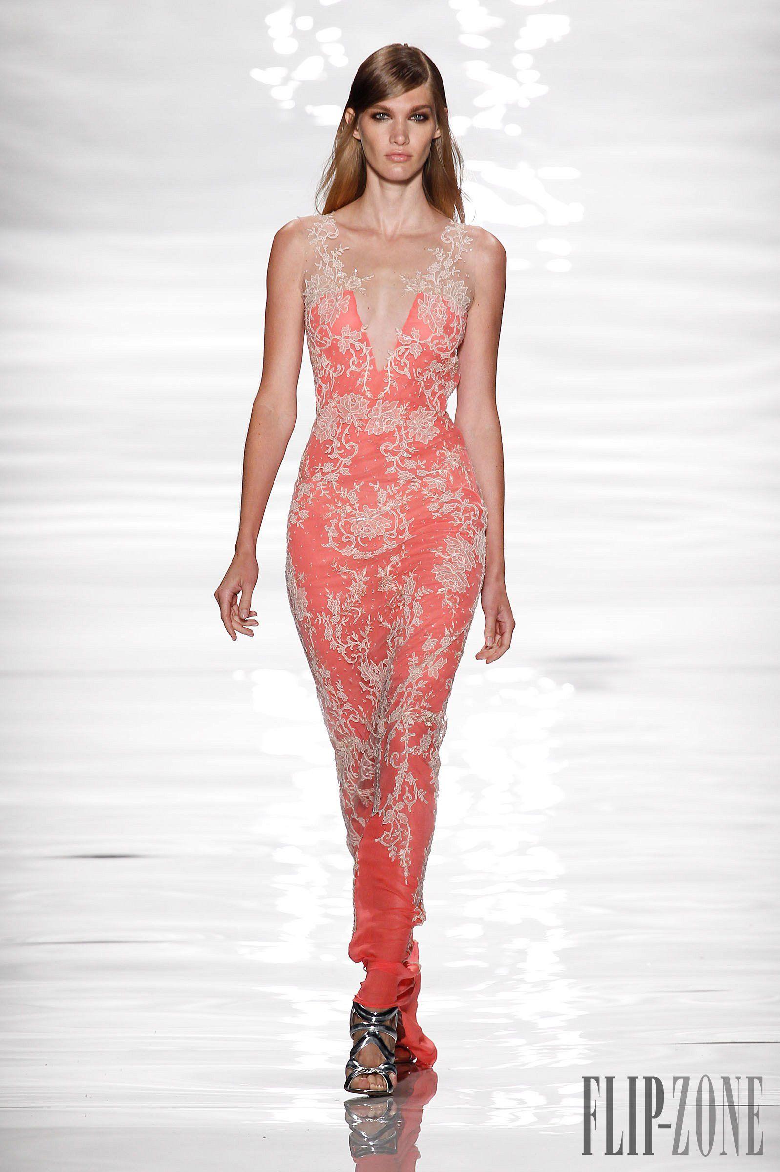 Reem Acra (SS 2015 runway show)   Fashion/models   Pinterest