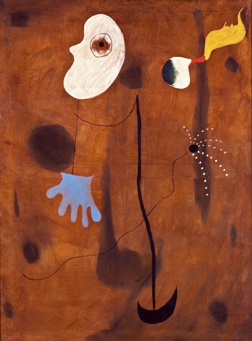 Joan Miró, Painting, 1925 Oil on canvas, 130 x 97 cm / 51 1⁄5 x 38 1⁄5""