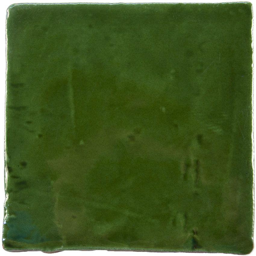 Carrelage mural ancien brillant vert 10 x 10 cm - PR0809026 ...
