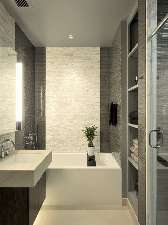 Tiny Modern Bathroom Design