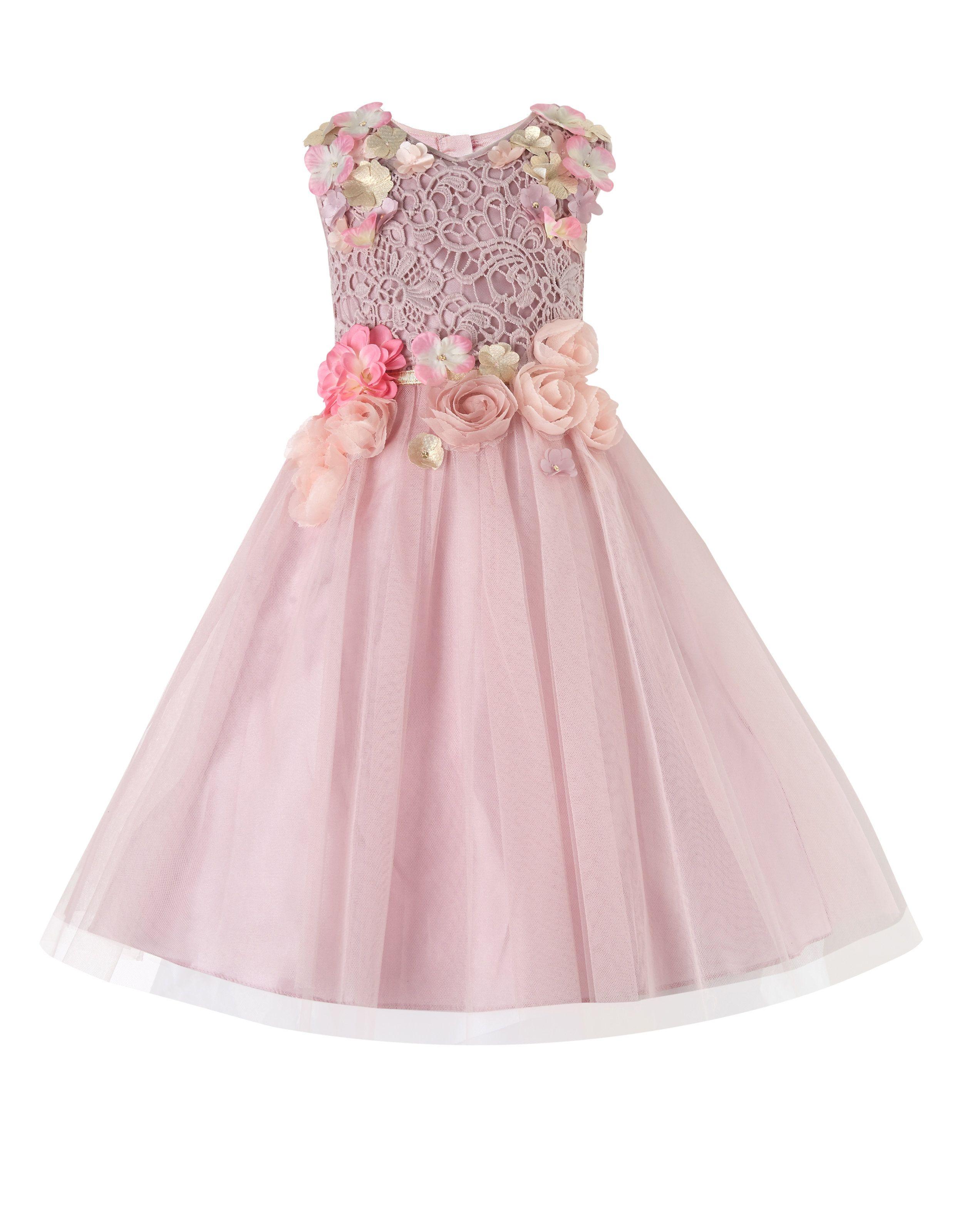 7363e0357 Nymph Flower Dress | Pink | Monsoon | Flower Girls | Flower girl ...