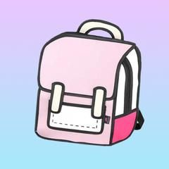 a9861526ce6 2D Cartoon Backpack – Very Peachy Clothing Stay cute all day in this  adorable 2D cartoon comic book style backpack! Featuring one large main  compartment and ...