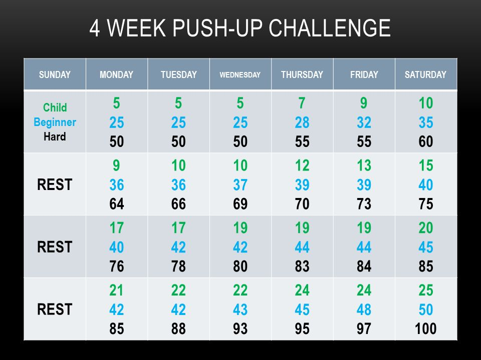 30 day pushup challenge pdf