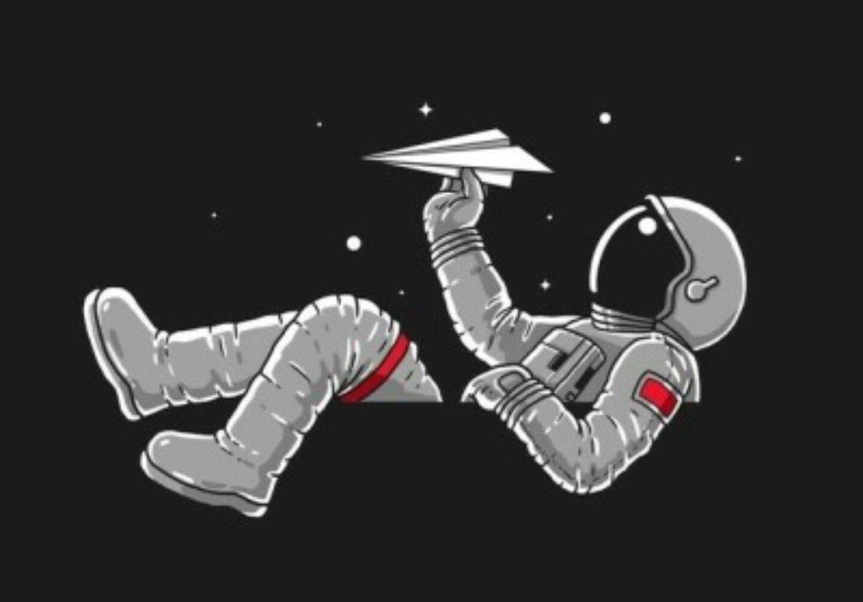 Pin von Julia Truter auf spacey Astronaut zeichnung