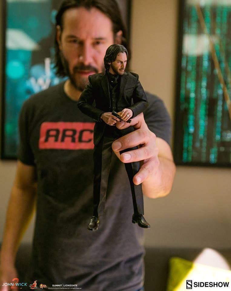 Riveting Reeves Hot Toys The Baba Yaga Himself Keanu Reeves Keanu Reeves Meme Keanu Reeves John Wick Keanu Reeves