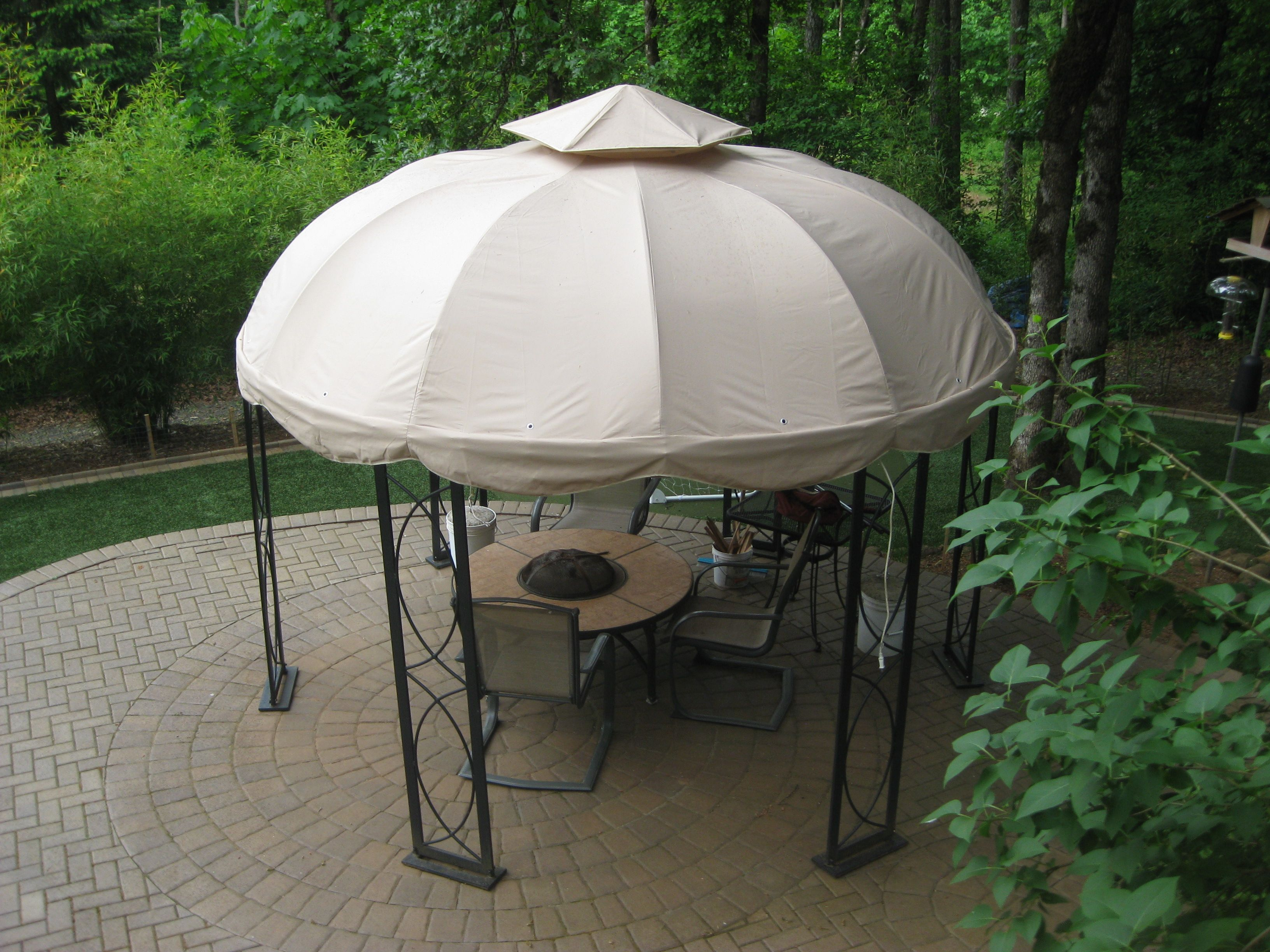 Allen Roth Gazebo Allen Roth Replacement Parts Screened In