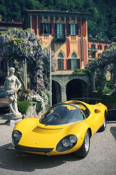 1967 Ferrari Dino 206 Competizione (Pininfarina) ULTRACOOL! ESPECIALLY IF YOU HAVE A VILLA IN ITALY AS WELL!