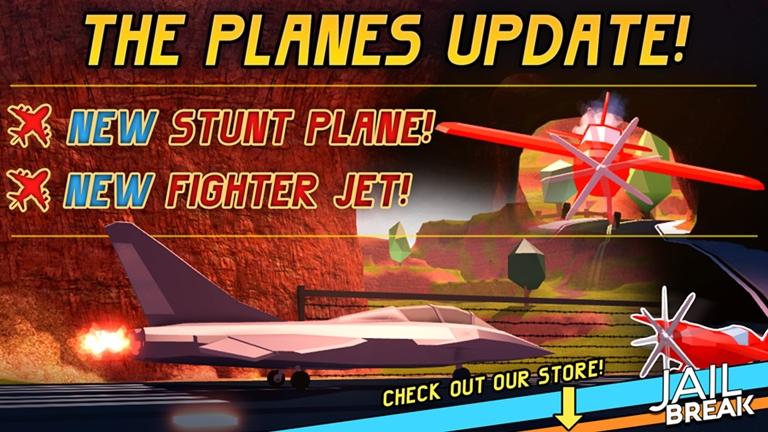 4 Jailbreak Planes Roblox Roblox Stunt Plane Stunts