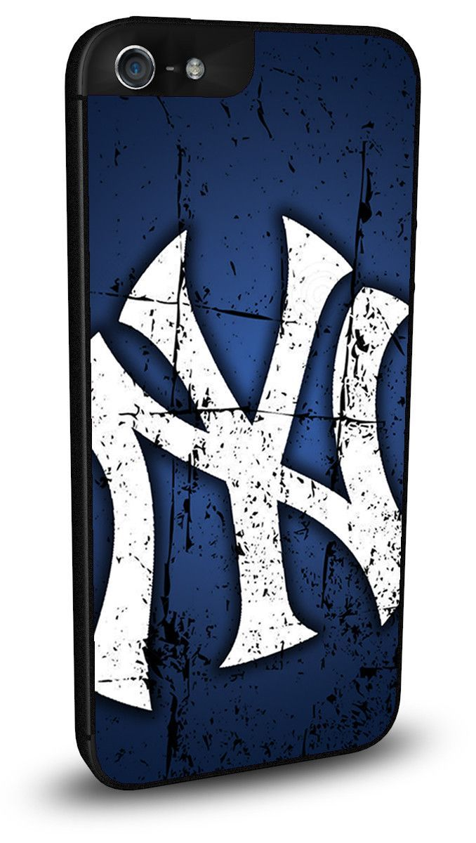 New York NY Yankees Cell Phone Hard Case for iPhone 6/6s, iPhone 6/6s Plus, iPhone 5/5s, iPhone SE, iPhone 4/4s or iPhone 5c