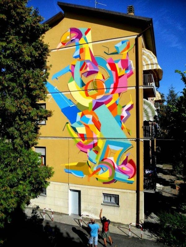 Elkenor | art | Pinterest | Street art, Murals street art and ...