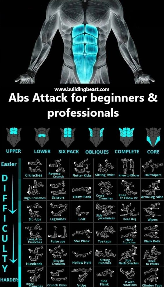 Abs Attack! For beginners & professionals