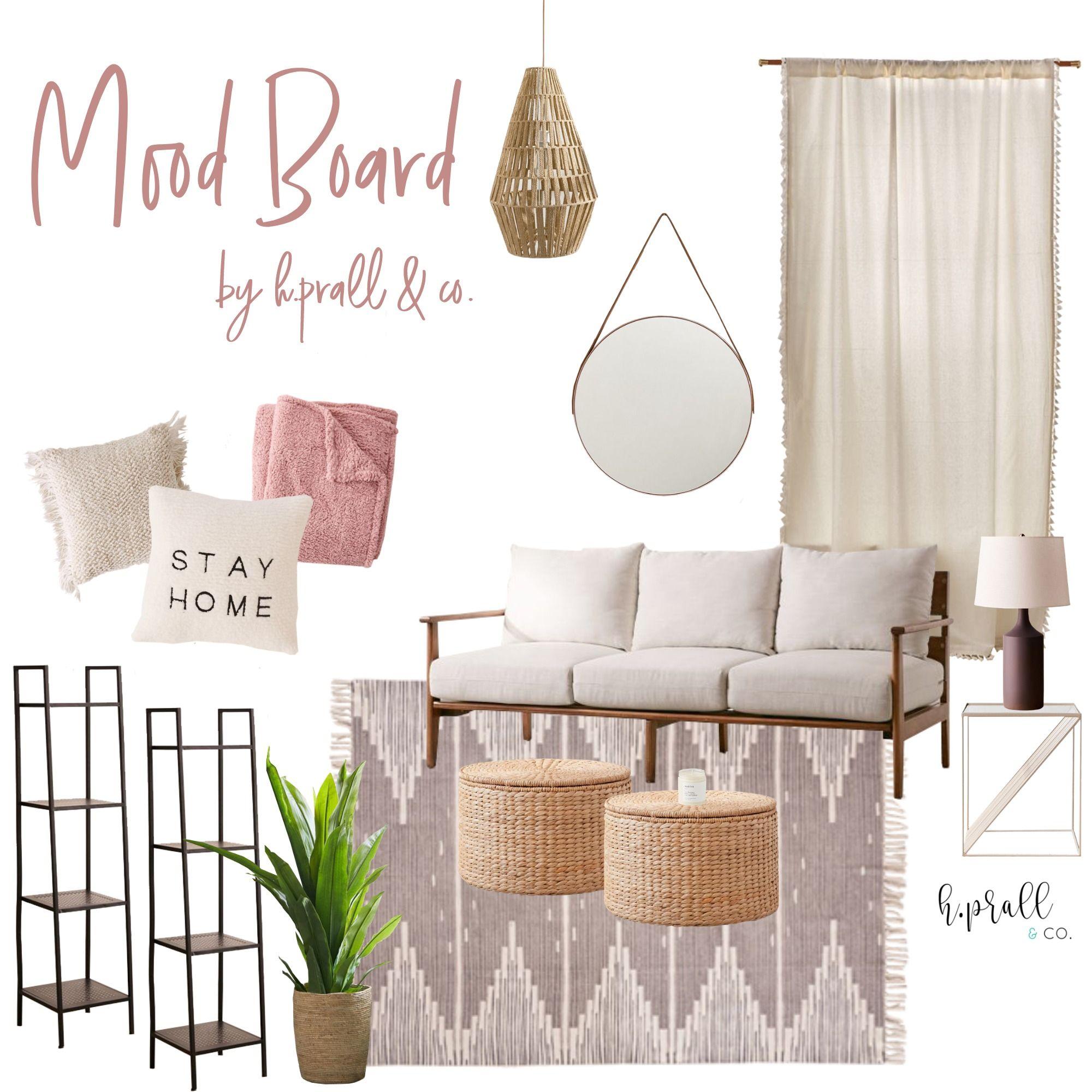 Monday Mood Board Living Room Designs Boho Living Room Chic