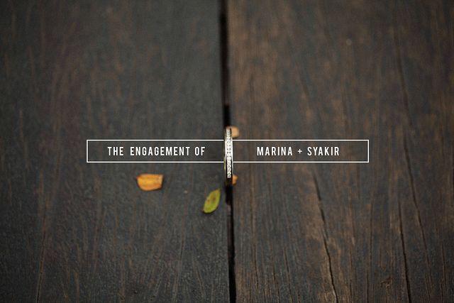 :) syakir+marina