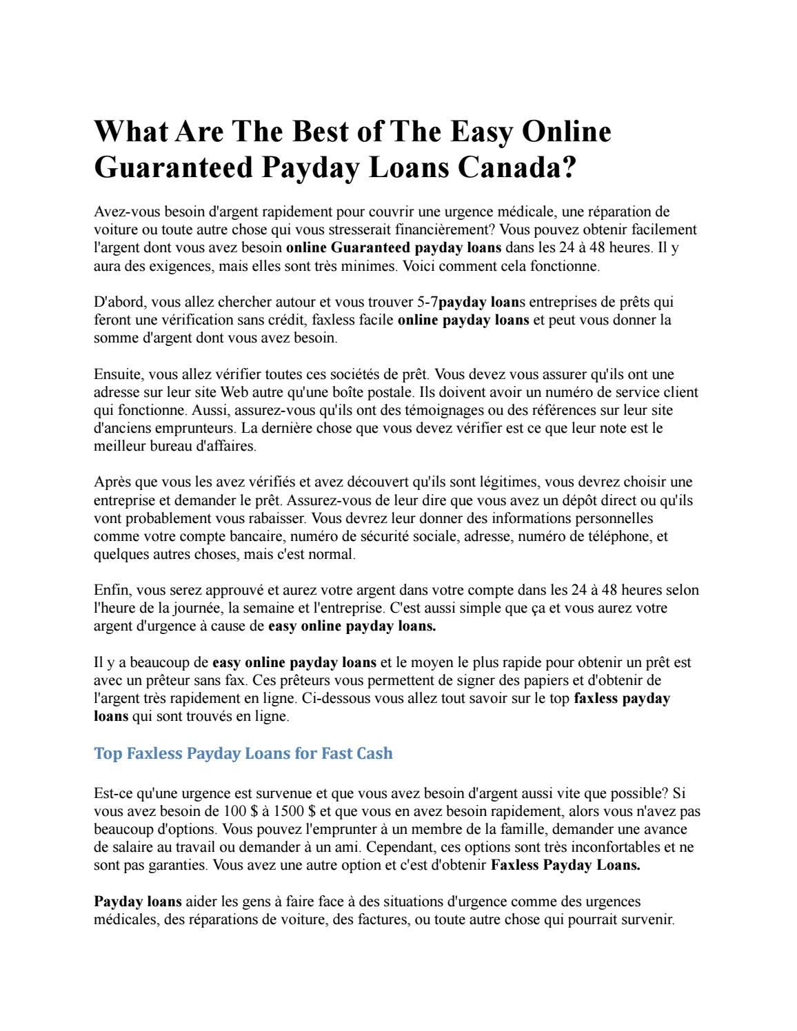 Payday loans midland ontario