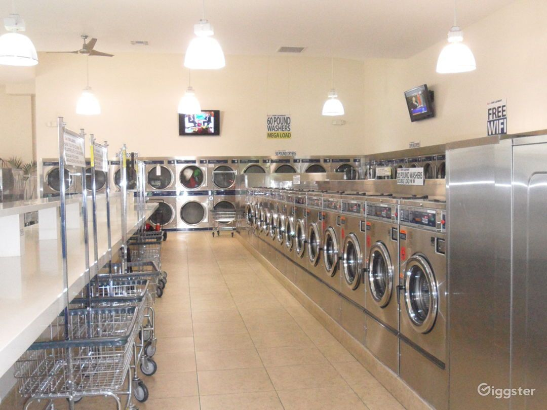 The Perfect Laundromat Coin Laundry Space In 2020 Coin Laundry Laundromat Laundry