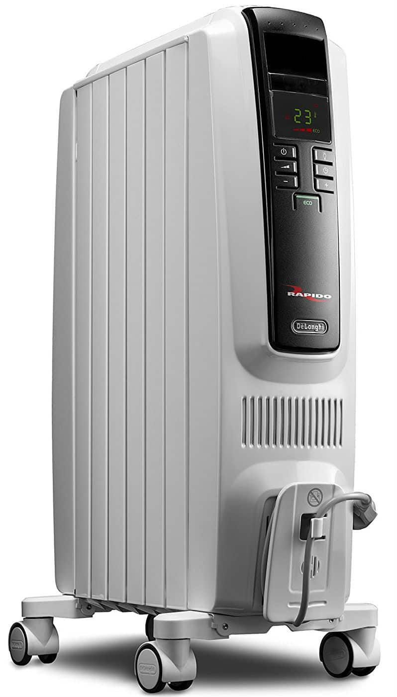 Delonghi Trd40615e Full Room Radiant Heater Oil Heater Radiant Heaters Portable Space Heater