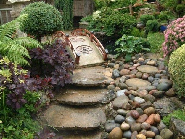 Decorare il giardino con i sassi giardino in stile zen - Giardini zen in casa ...