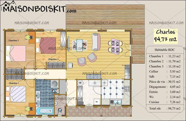 Plans De Maison De Plain Pied Seloger Construire 9