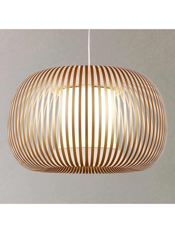 John Lewis & Partners Harmony Large Ribbon Ceiling Light ...