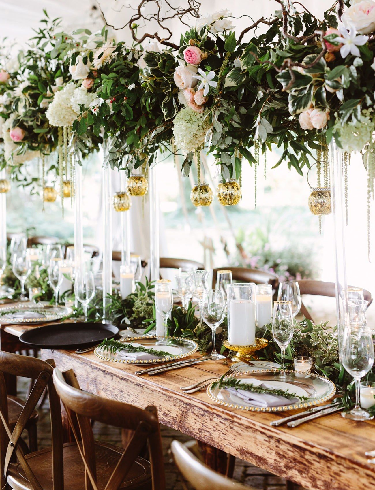 Wedding Reception Tablescapes That Are Giving Us Major Spring Fever