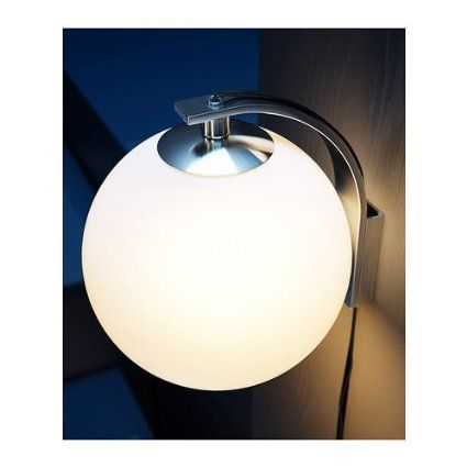 Ikea Minut Wall Lamp Sconce White 6 Glass Corded Plug In Amazon Com Ikea Wall Lamp Wall Lamp Lamp