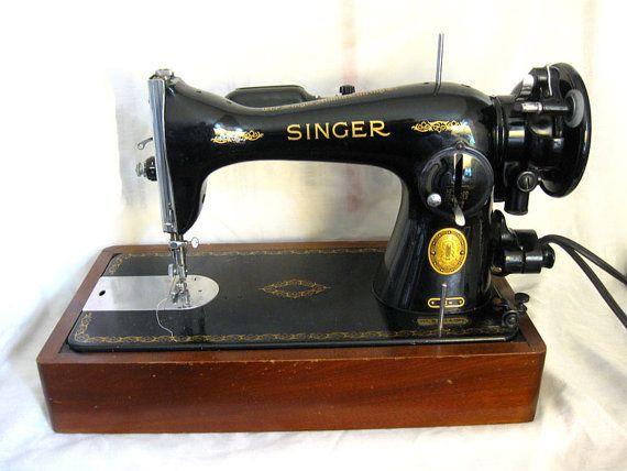 REDUCED Vintage 40 Singer Sewing Machine Model 40 Electric Enchanting Singer Sewing Machine Model 15