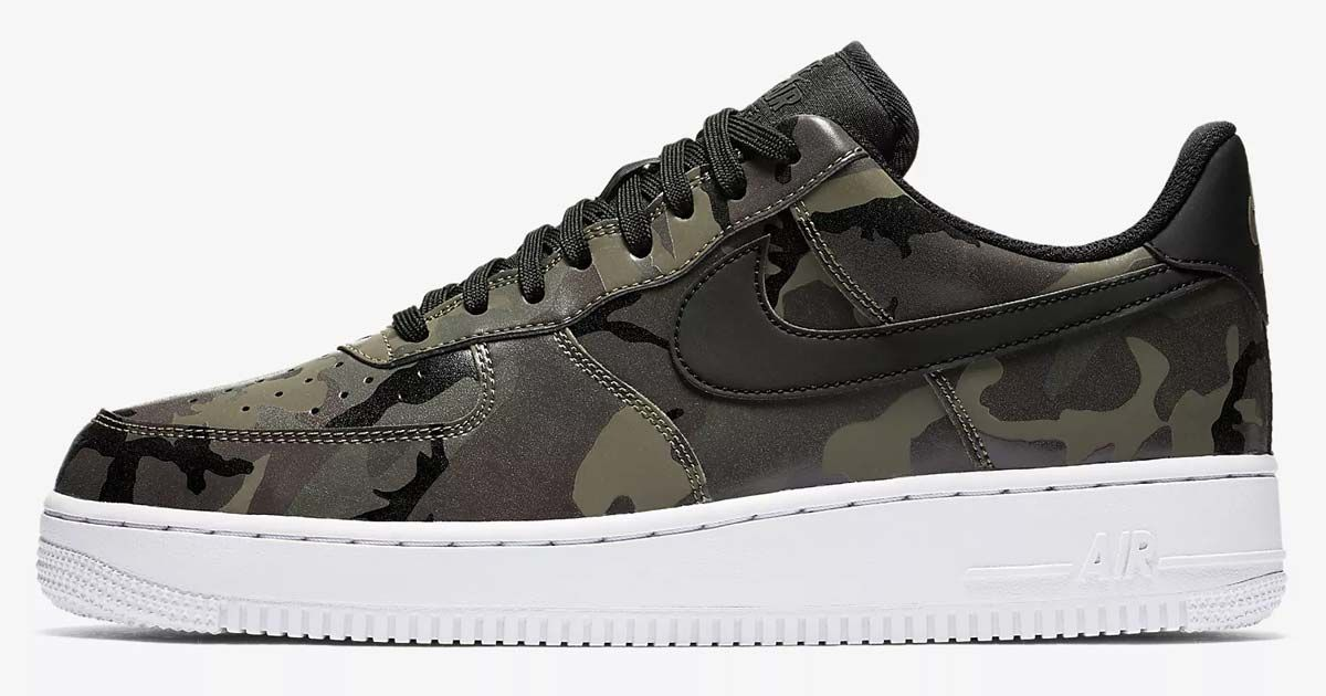 Nike Air Force 1 Camo 77 Shipped With Nike Account Retail 100