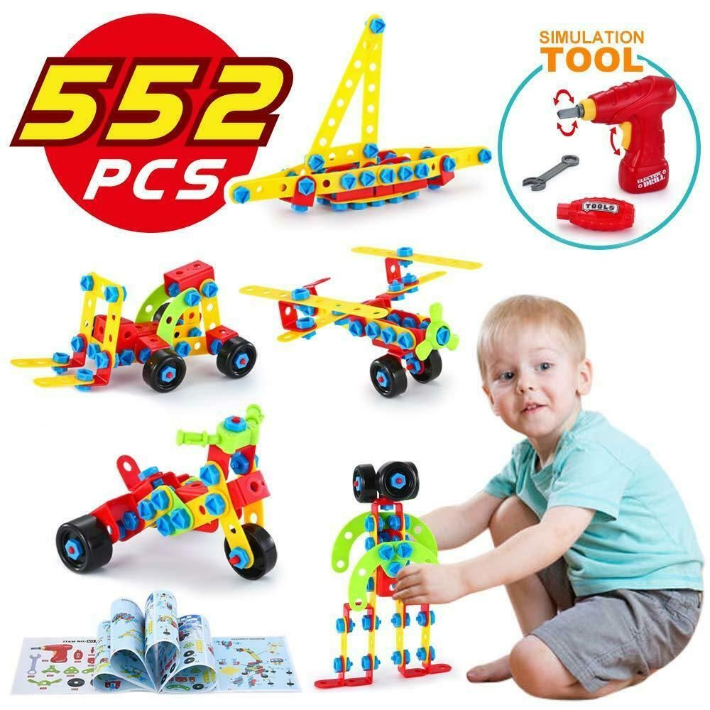 Apprentissage Jouet Construction Jeu Set-Best for Boys /& Girls 3 ans 12 ans