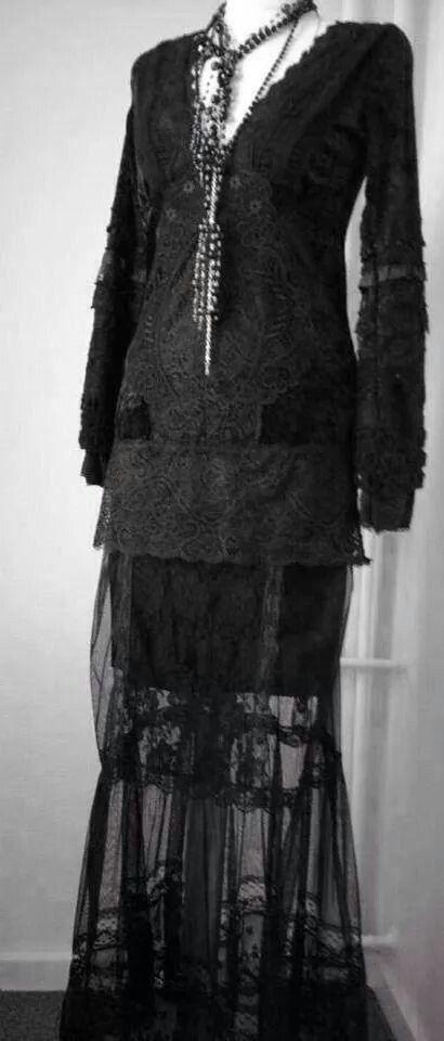 Raw rags dress