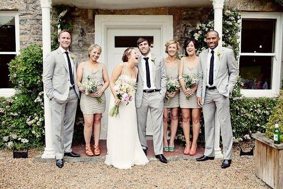 Wedding Light Grey Suits