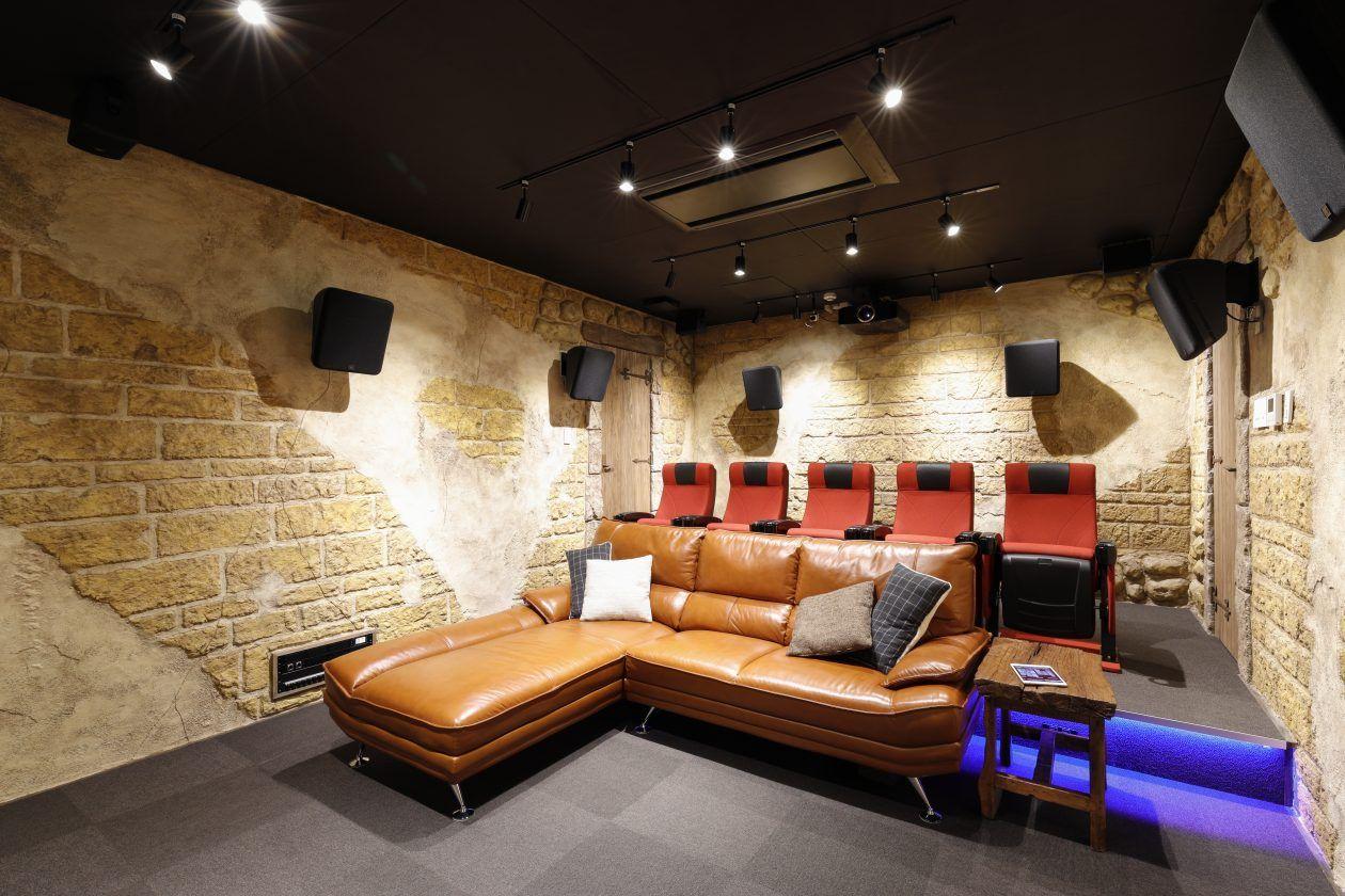 専用室シアターcase2ここにしかない 唯一無二の映画館