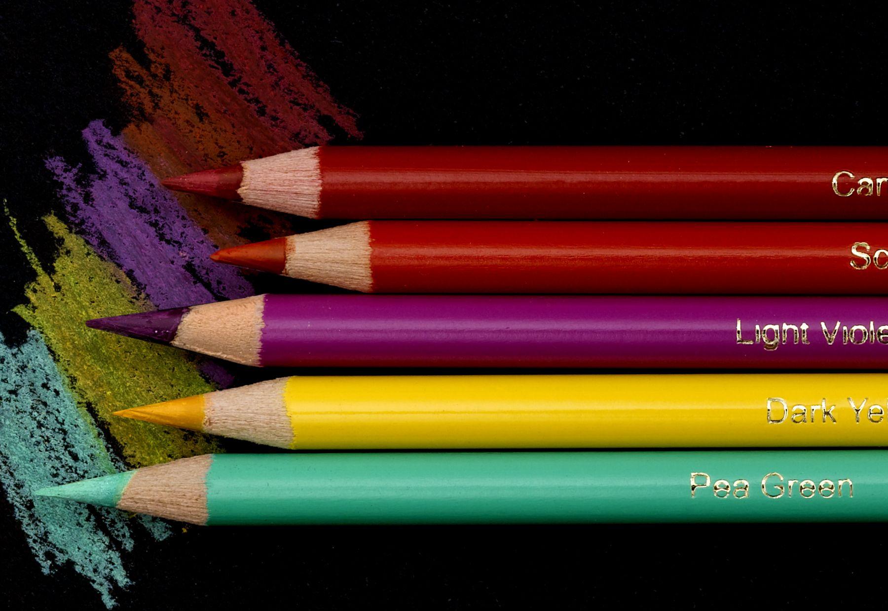 Blick studio artists colored pencils color pencil art