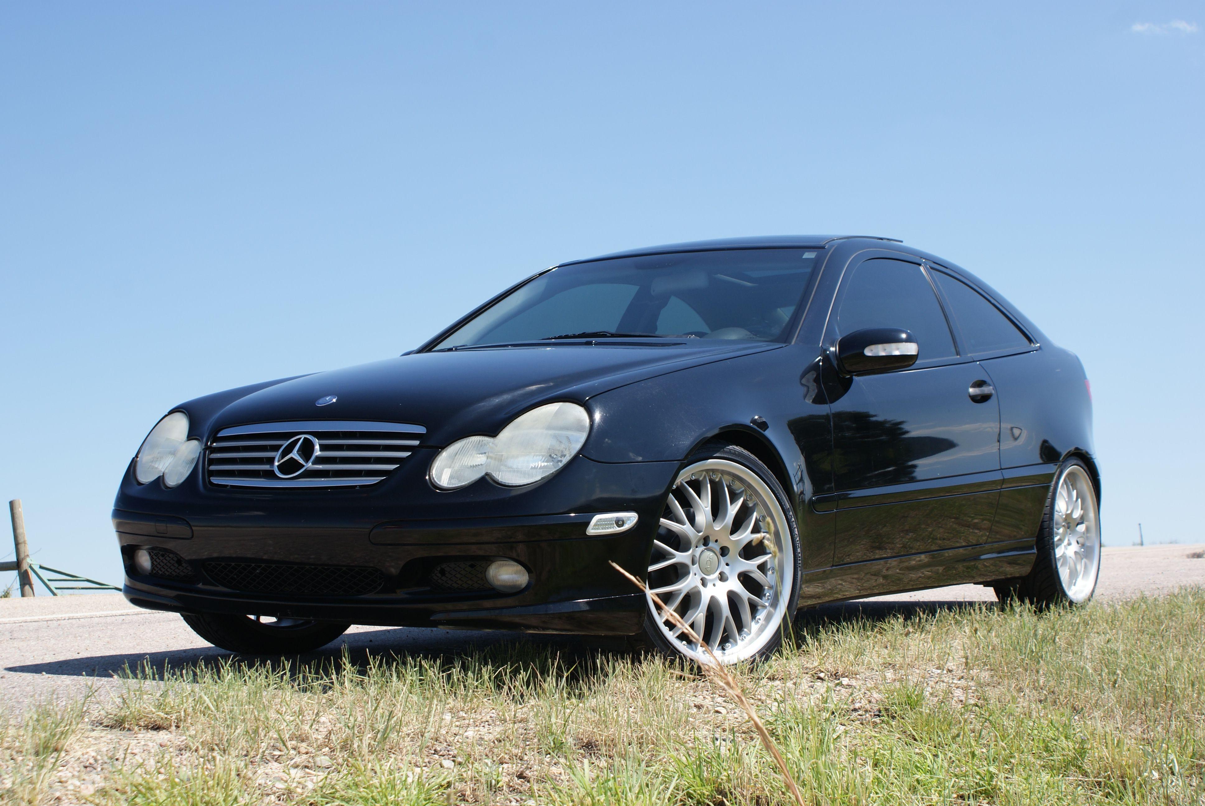 2002 Mercedes Benz C230 Kompressor Sport Coupe