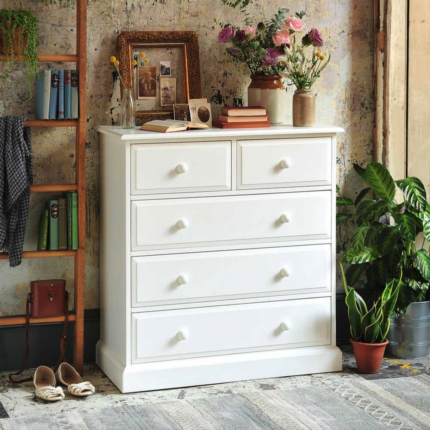 White chest of drawers you need to know about the - Childrens pine bedroom furniture ...