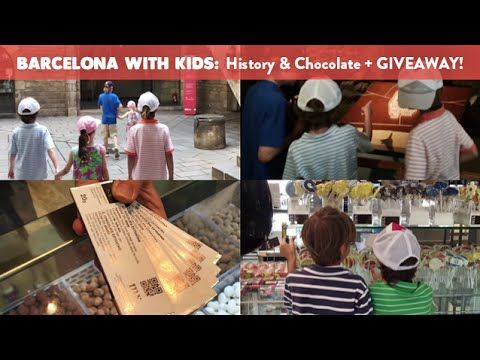 Barcelona with Kids: History and Chocolate + GIVEAWAY! | CloudMom