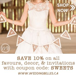 Champagne Sweets   Canadian Wedding Blog Inspiration