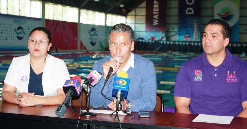 La competencia de nadose realizará del 13 al 19 de febrero en los 4 complejos acuáticos del Ayuntamiento de Morelia, con un estimado de 4 mil personas – Morelia, Michoacán, ...