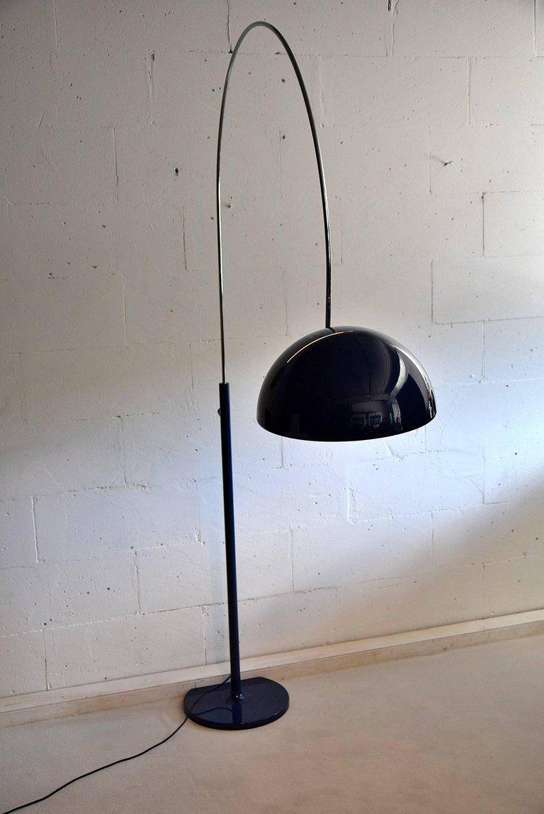 Mid Century Modern Floor Lamp Coupe 3320 R Joe Colombo Avec Images