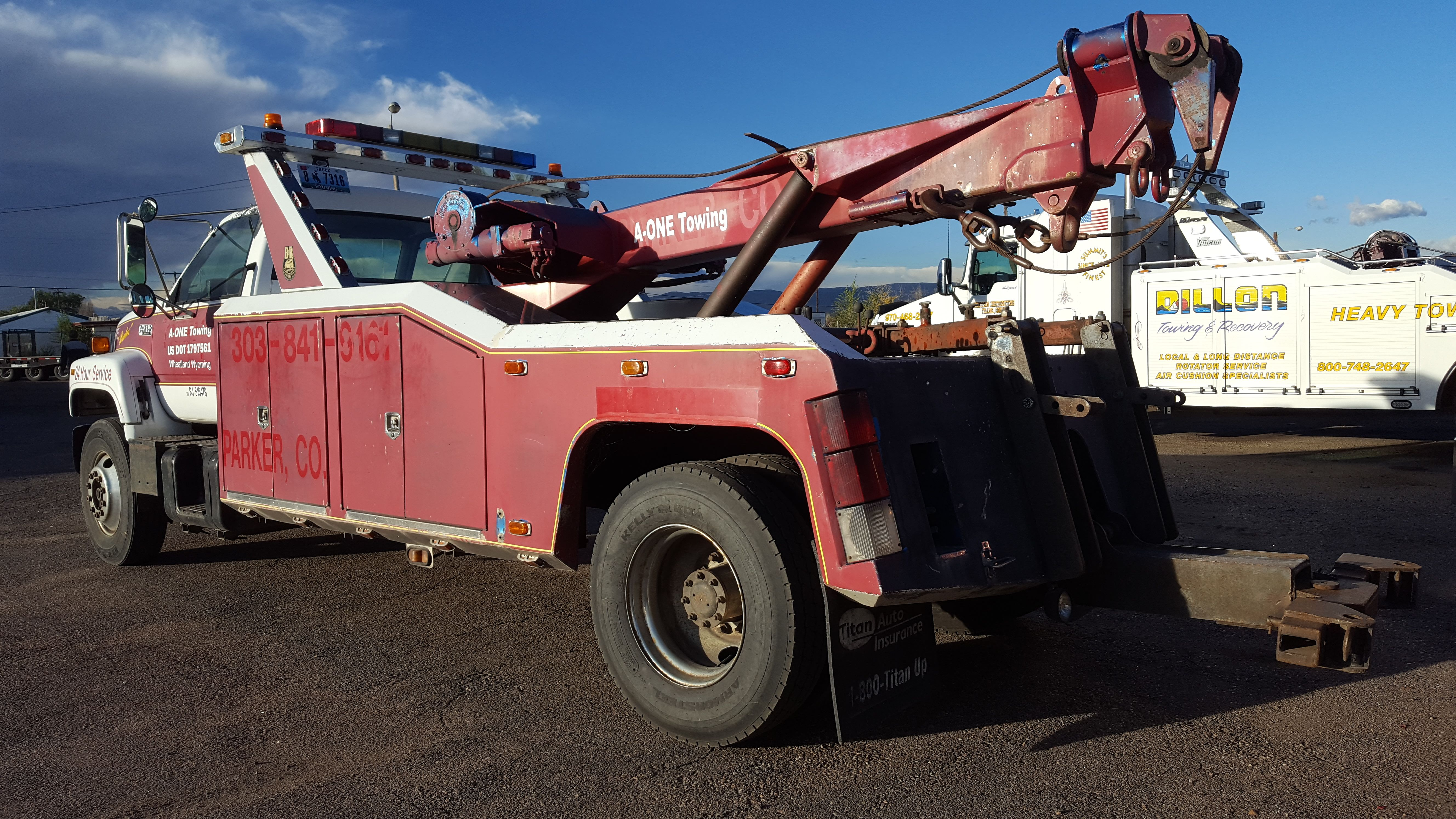 1994 GMC Topkick – B&B Wrecker 20 ton Mid America Wrecker Sales