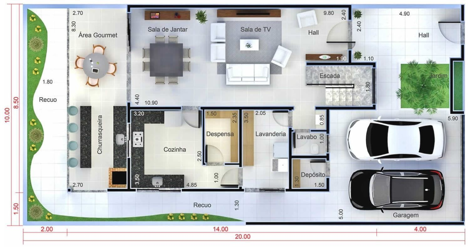 Home Design Plan 10x20 Meters Home Design With Plan Home Design Plan House Design Affordable House Plans