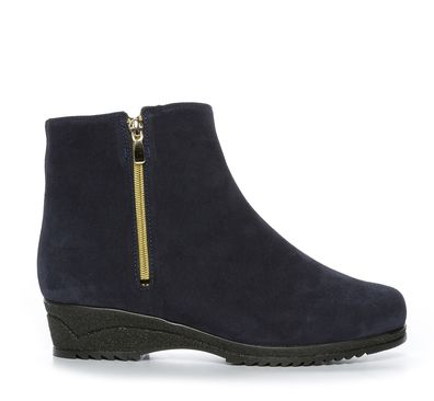 Nilson Shoes Kängor och Boots AALTONEN, NOVA-LI WEDGE Mocka Blå