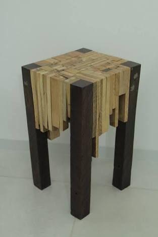 Image result for feito de sobras de madeira