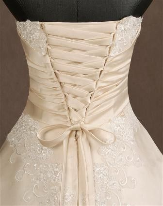 Lace Up Back Want This To Be The Of My Wedding Dress