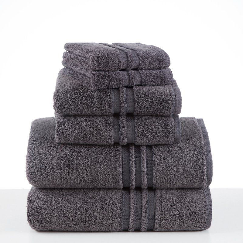 Under the Canopy Unity 6 Piece Towel Set Slate - 079465022988  sc 1 st  Pinterest & Under the Canopy Unity 6 Piece Towel Set Slate - 079465022988 ...
