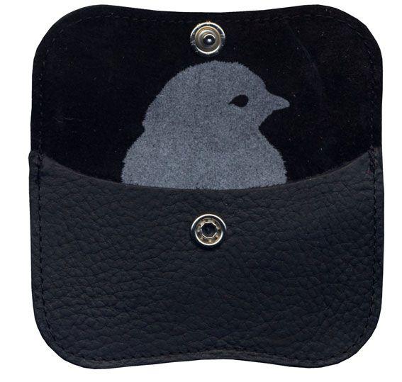 Mini portemonnee black - Keecie - BijzonderMOOI* - Dutch design