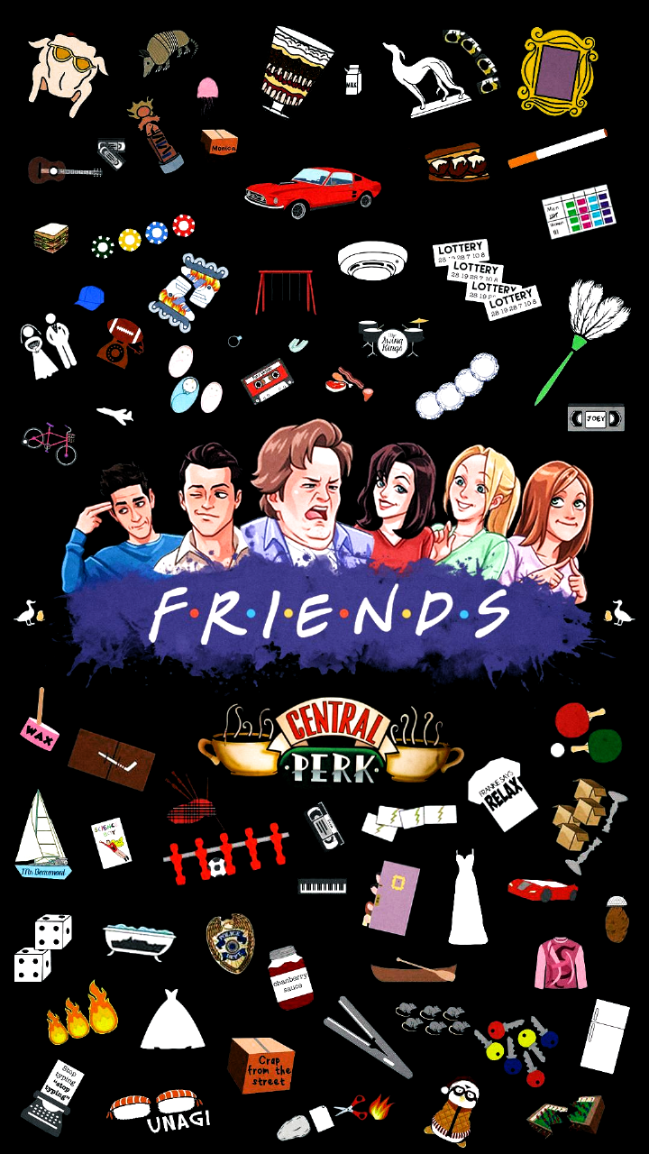 Pin On Background Wallpaper Friends Collage Friends Poster Friends Wallpaper