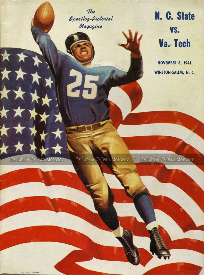 1941.11.08. Virginia Tech (Hokies) vs North Carolina State