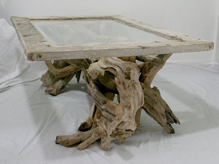 Driftwood Coffee Table · A Statement Table